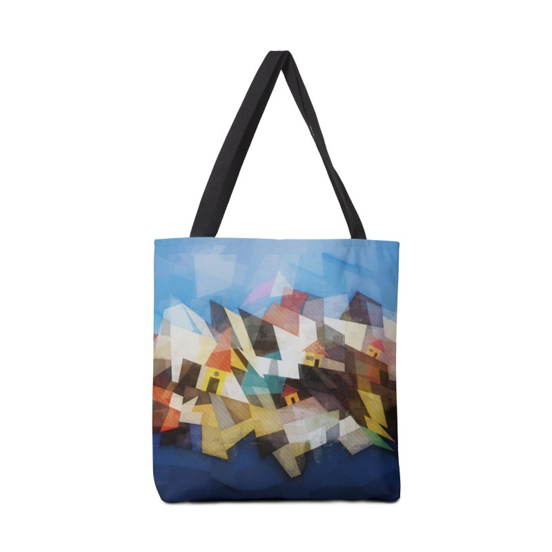 Little city Accessories Tote Bag Bag by fruityshapes's Shop