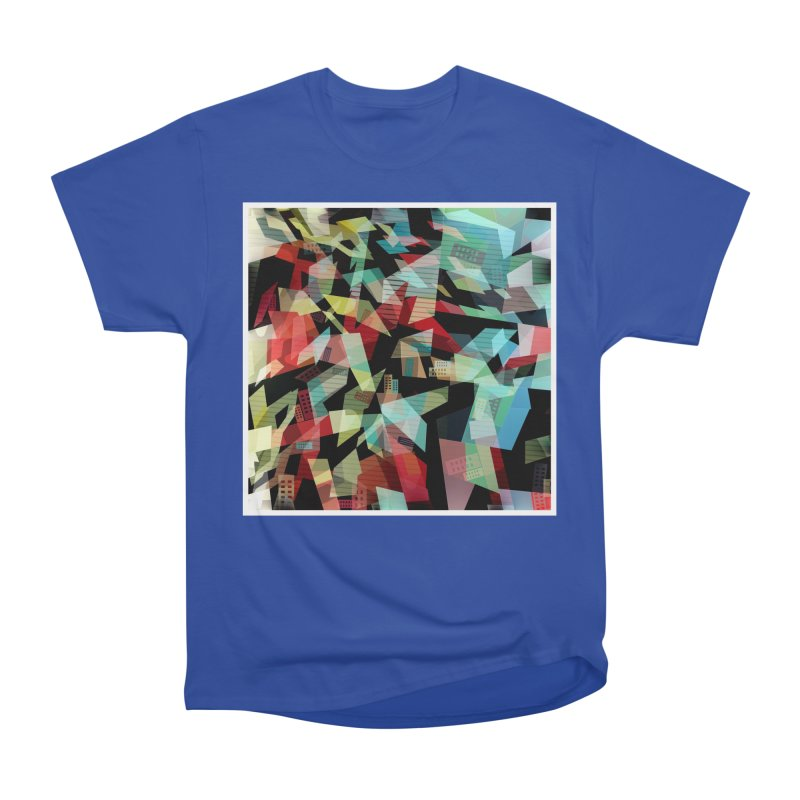 Abstract city in the mirror Women's Heavyweight Unisex T-Shirt by fruityshapes's Shop