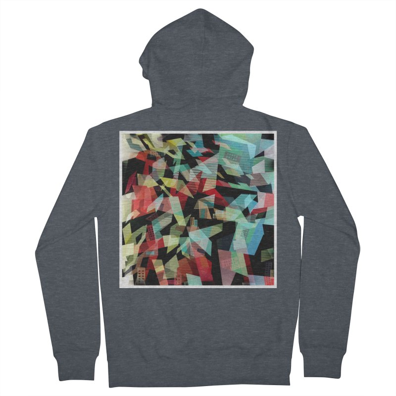 Abstract city in the mirror Women's Zip-Up Hoody by fruityshapes's Shop