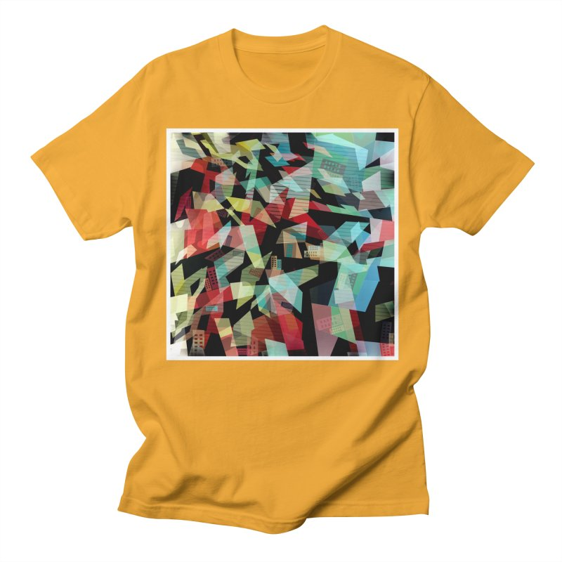 Abstract city in the mirror Women's Unisex T-Shirt by fruityshapes's Shop