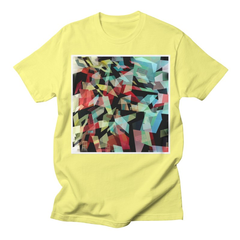 Abstract city in the mirror Men's T-Shirt by fruityshapes's Shop