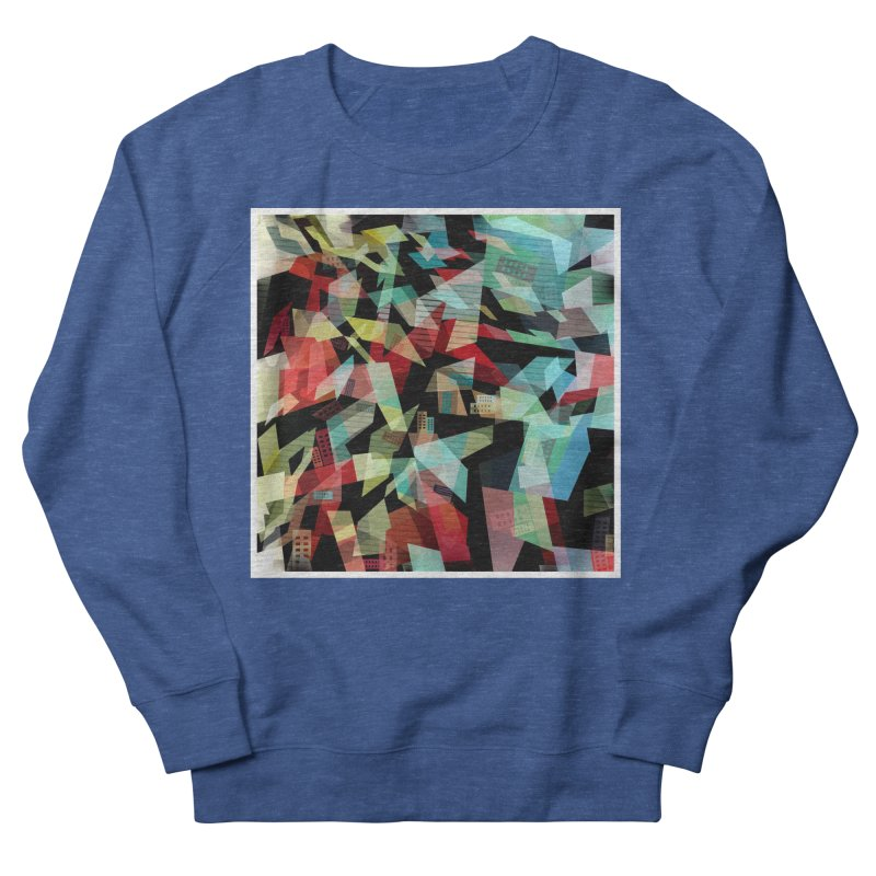 Abstract city in the mirror Women's Sweatshirt by fruityshapes's Shop