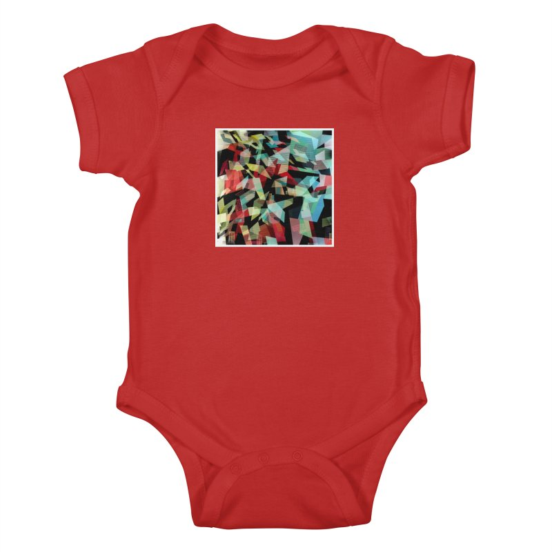 Abstract city in the mirror Kids Baby Bodysuit by fruityshapes's Shop