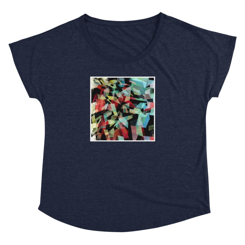 Abstract city in the mirror Women's Dolman by fruityshapes's Shop