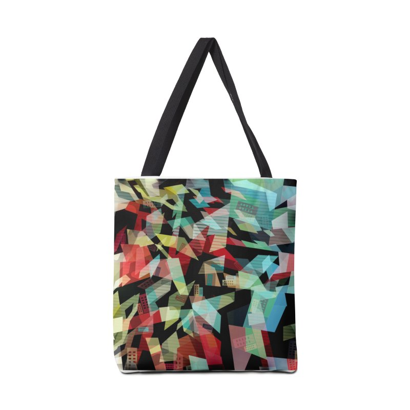 Abstract city in the mirror Accessories Tote Bag Bag by fruityshapes's Shop