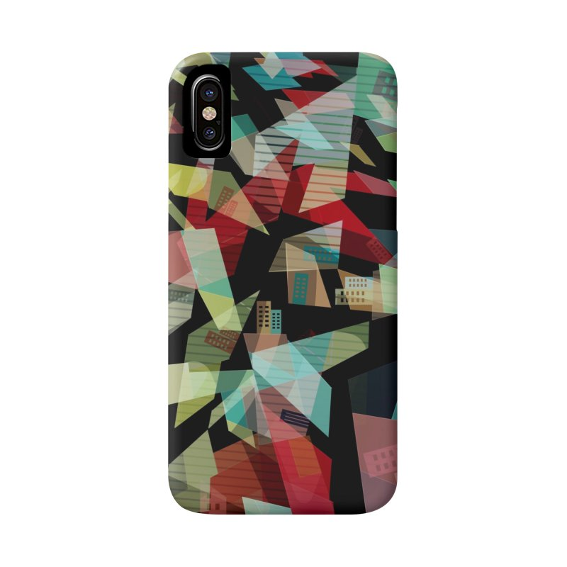 Abstract city in the mirror Accessories Phone Case by fruityshapes's Shop