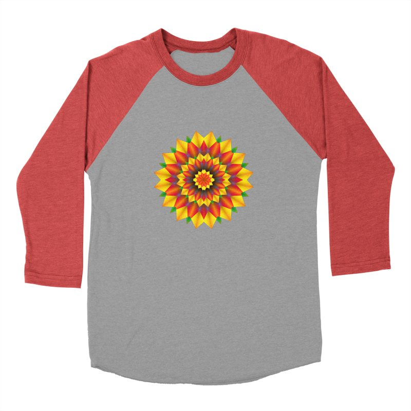 Abstract colorful flowers Mandala Men's Longsleeve T-Shirt by fruityshapes's Shop