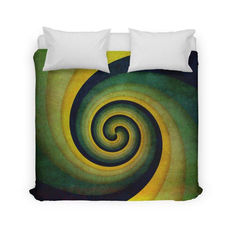 Green Swirl Home Duvet by fruityshapes's Shop