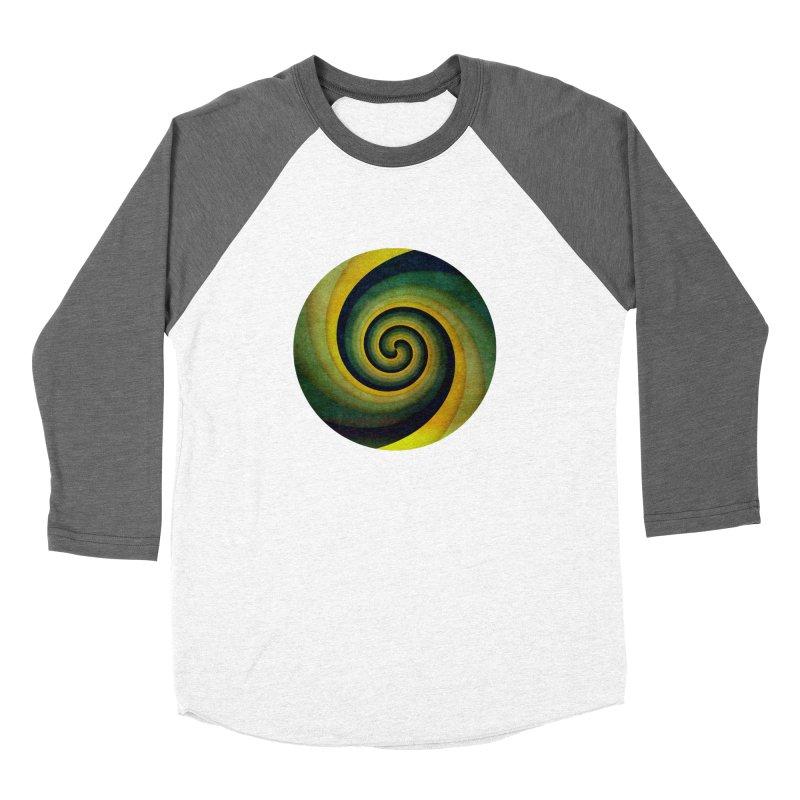 Green Swirl Women's Longsleeve T-Shirt by fruityshapes's Shop