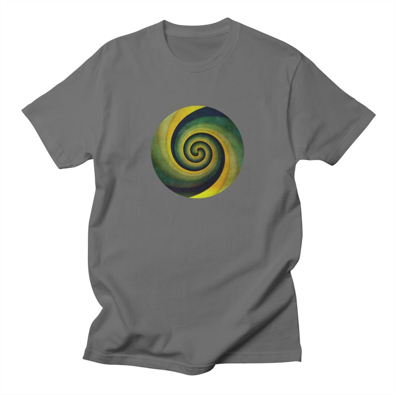 Green Swirl Men's T-Shirt by fruityshapes's Shop