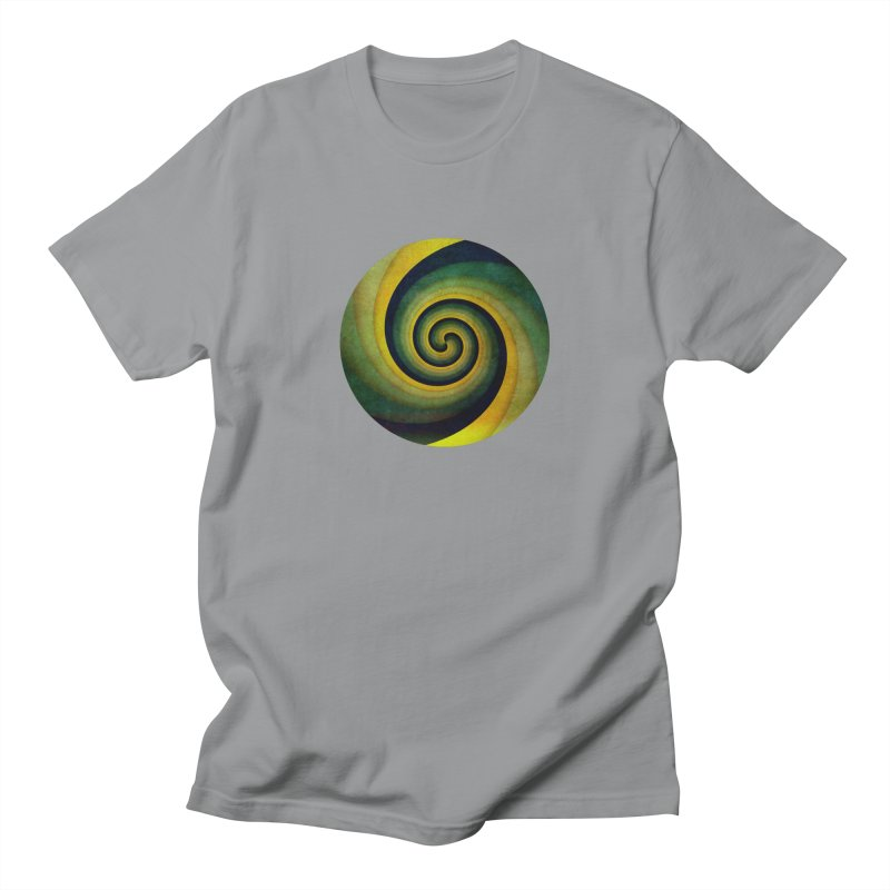 Green Swirl Women's Unisex T-Shirt by fruityshapes's Shop