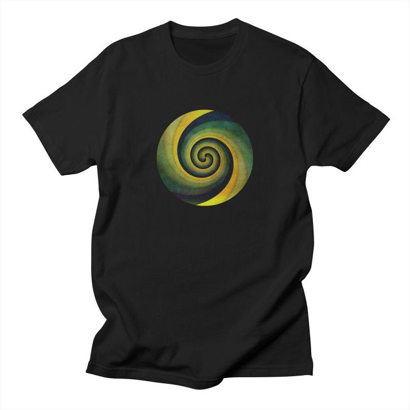 Green Swirl Women's Regular Unisex T-Shirt by fruityshapes's Shop