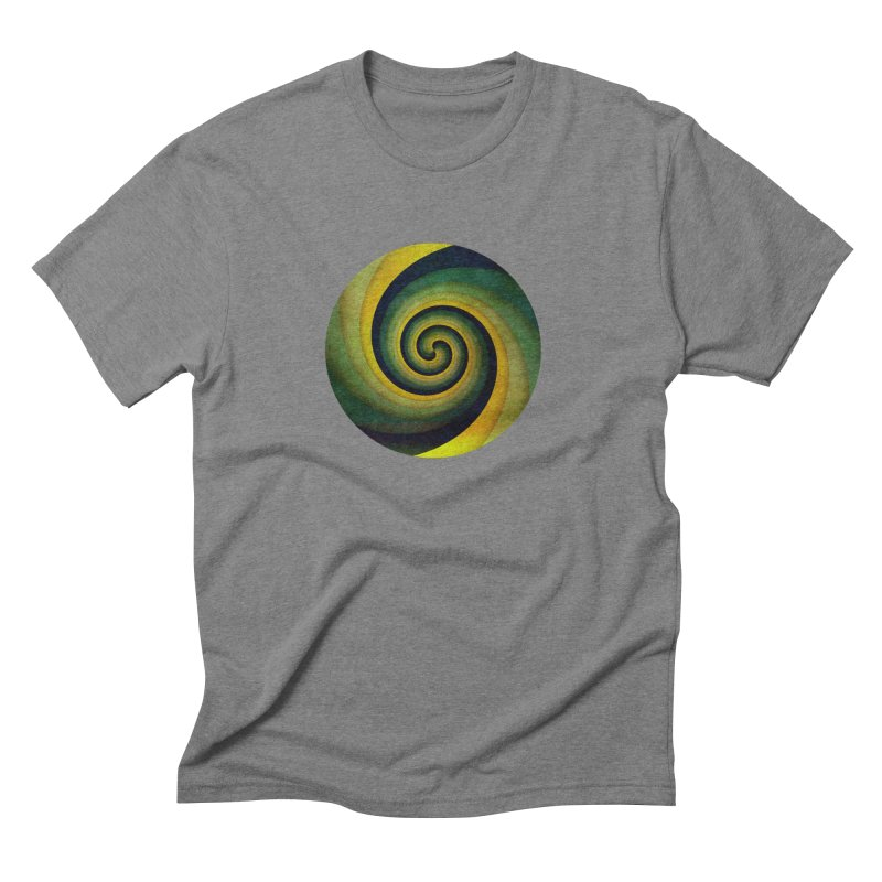 Green Swirl Men's Triblend T-Shirt by fruityshapes's Shop