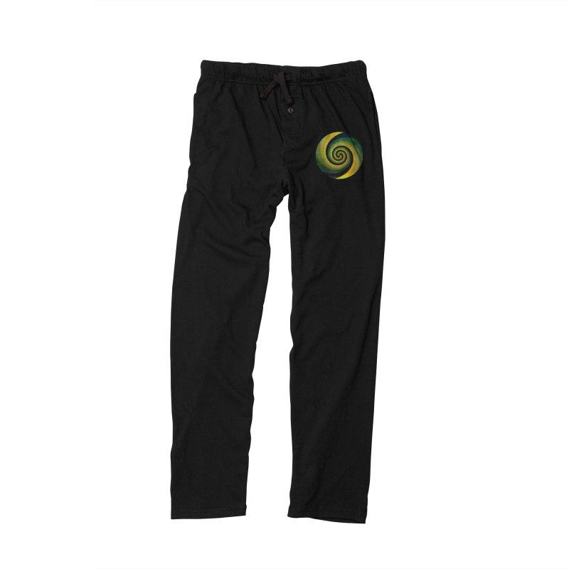 Green Swirl Men's Lounge Pants by fruityshapes's Shop