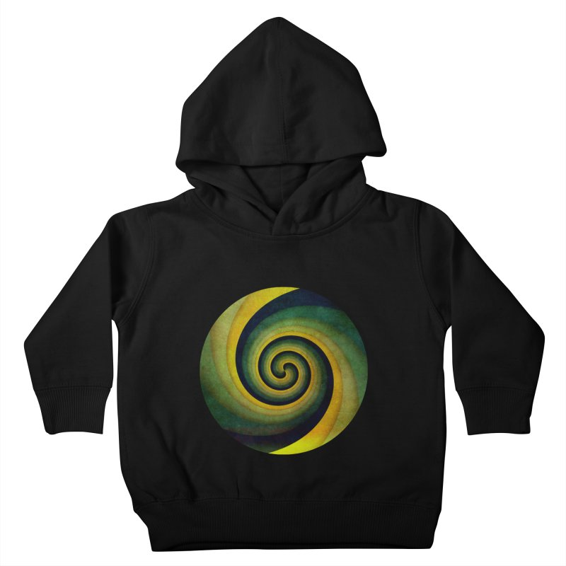 Green Swirl Kids Toddler Pullover Hoody by fruityshapes's Shop