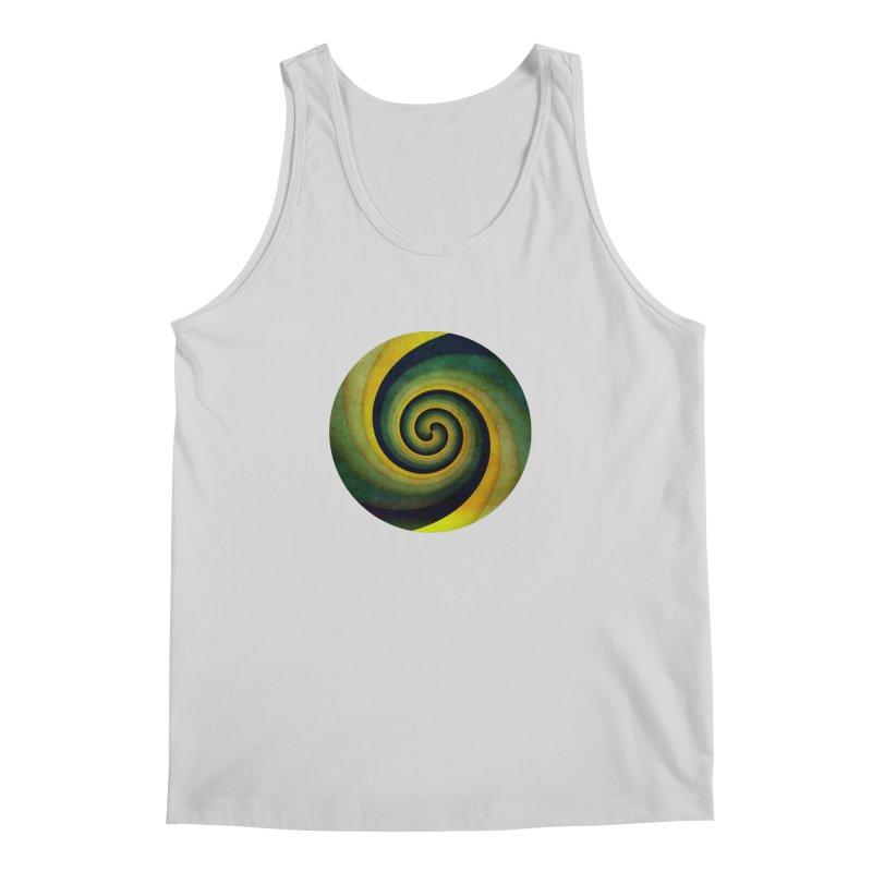 Green Swirl Men's Regular Tank by fruityshapes's Shop