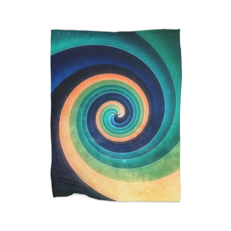 Abstract night swirl Home Blanket by fruityshapes's Shop