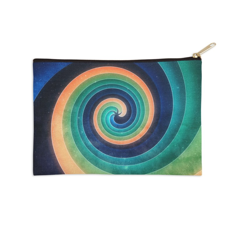Abstract night swirl Accessories Zip Pouch by fruityshapes's Shop