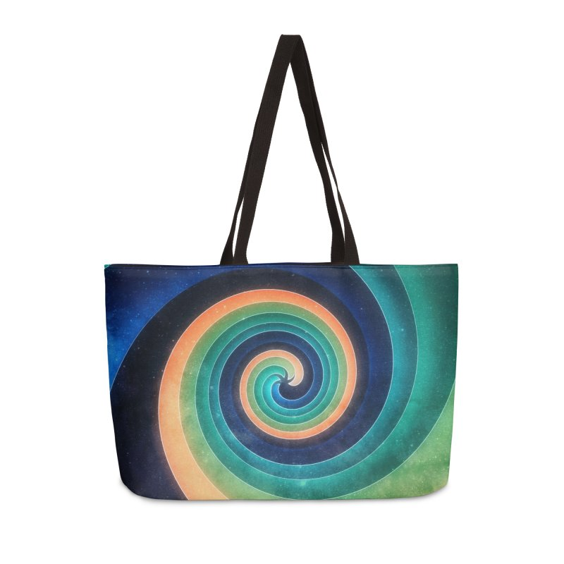 Abstract night swirl Accessories Weekender Bag Bag by fruityshapes's Shop