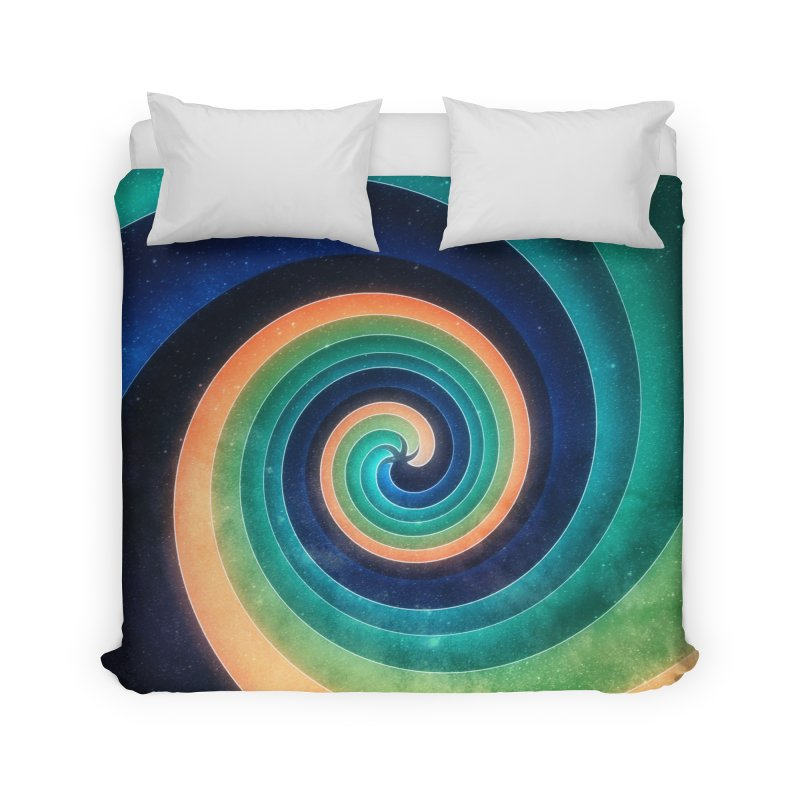 Abstract night swirl Home Duvet by fruityshapes's Shop