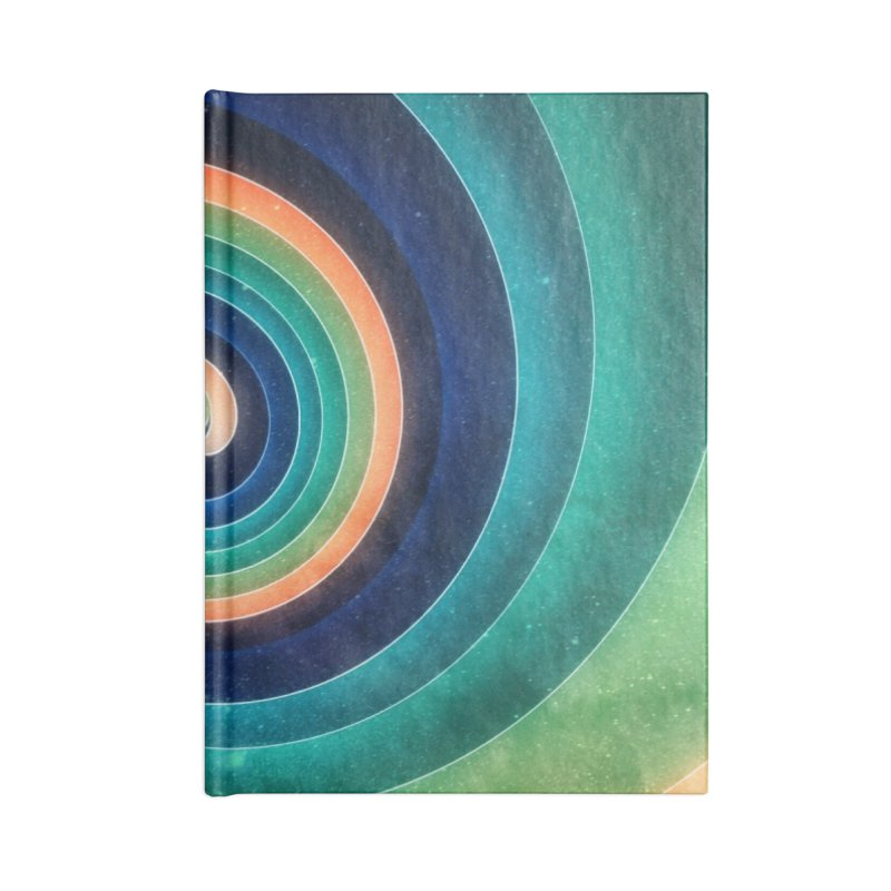 Abstract night swirl Accessories Lined Journal Notebook by fruityshapes's Shop