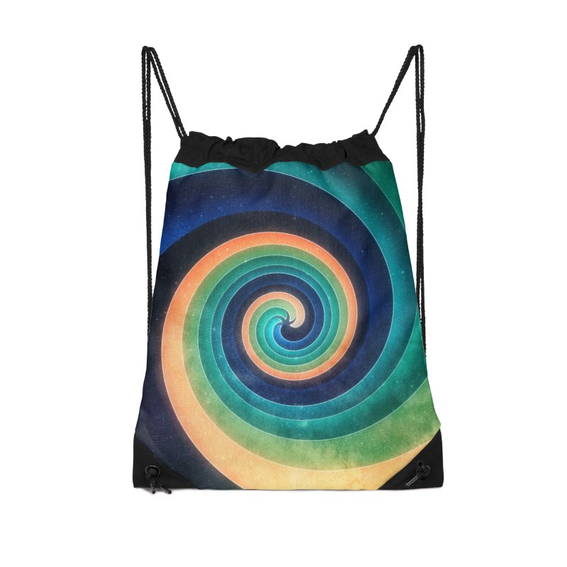 Abstract night swirl Accessories Drawstring Bag Bag by fruityshapes's Shop