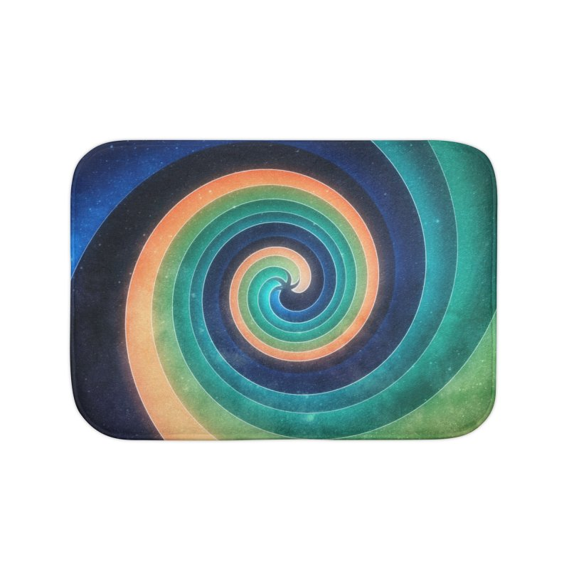 Abstract night swirl Home Bath Mat by fruityshapes's Shop