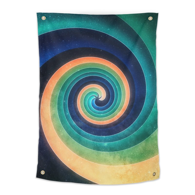 Abstract night swirl Home Tapestry by fruityshapes's Shop