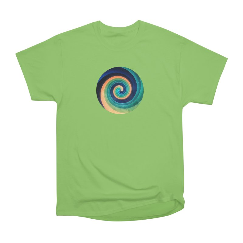 Abstract night swirl Women's Heavyweight Unisex T-Shirt by fruityshapes's Shop