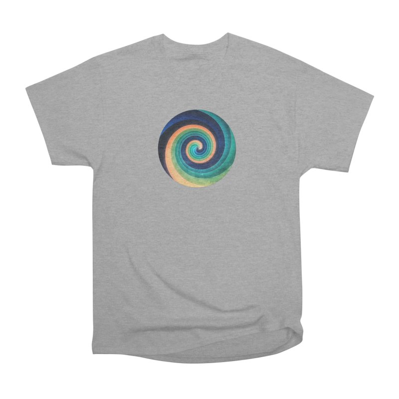 Abstract night swirl Men's Heavyweight T-Shirt by fruityshapes's Shop