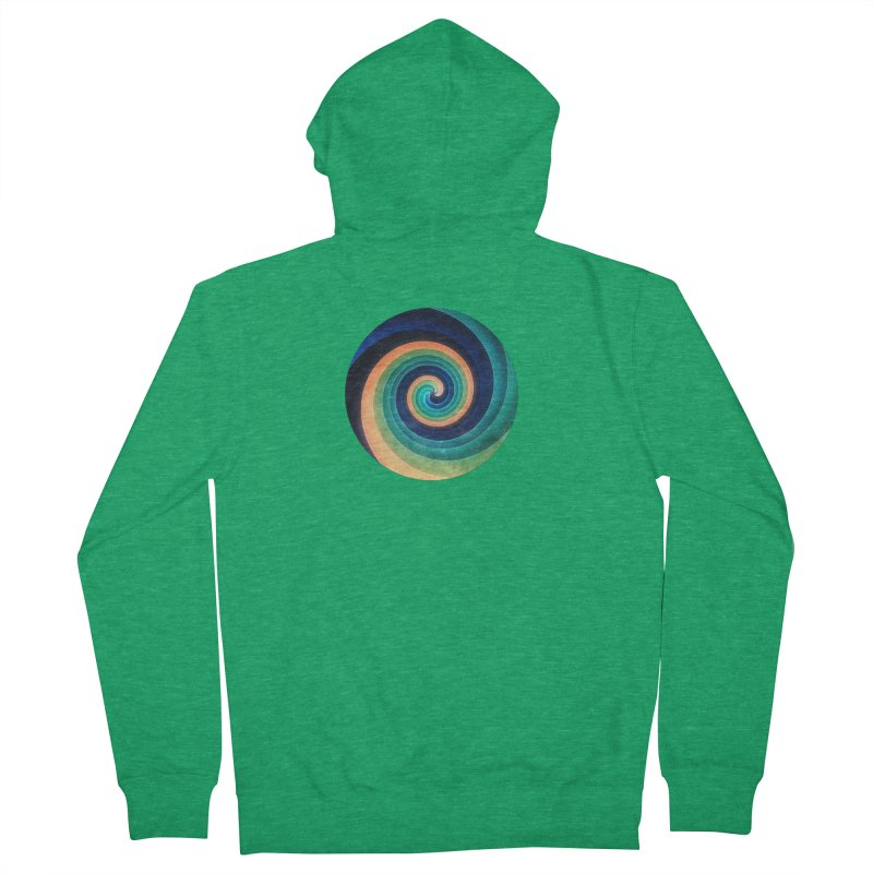 Abstract night swirl Men's French Terry Zip-Up Hoody by fruityshapes's Shop