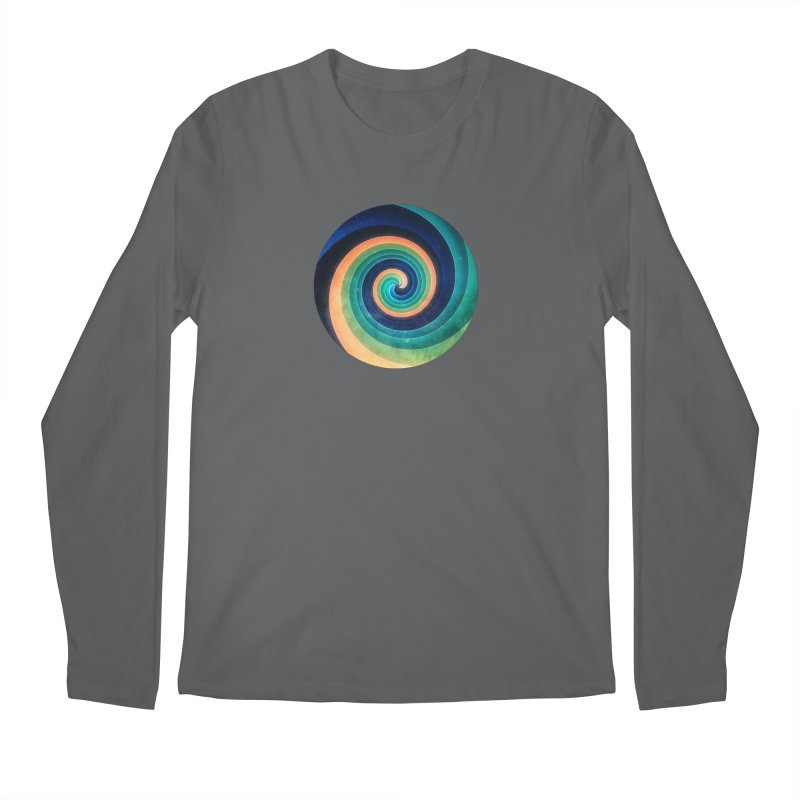 Abstract night swirl Men's Regular Longsleeve T-Shirt by fruityshapes's Shop