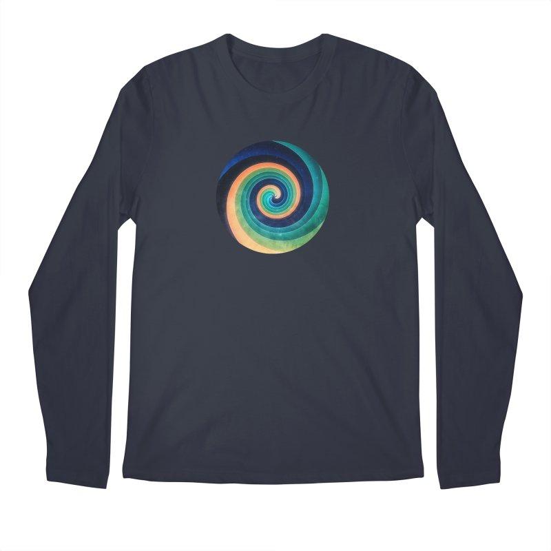 Abstract night swirl Men's Regular Longsleeve T-Shirt by fruityshapes's Shop
