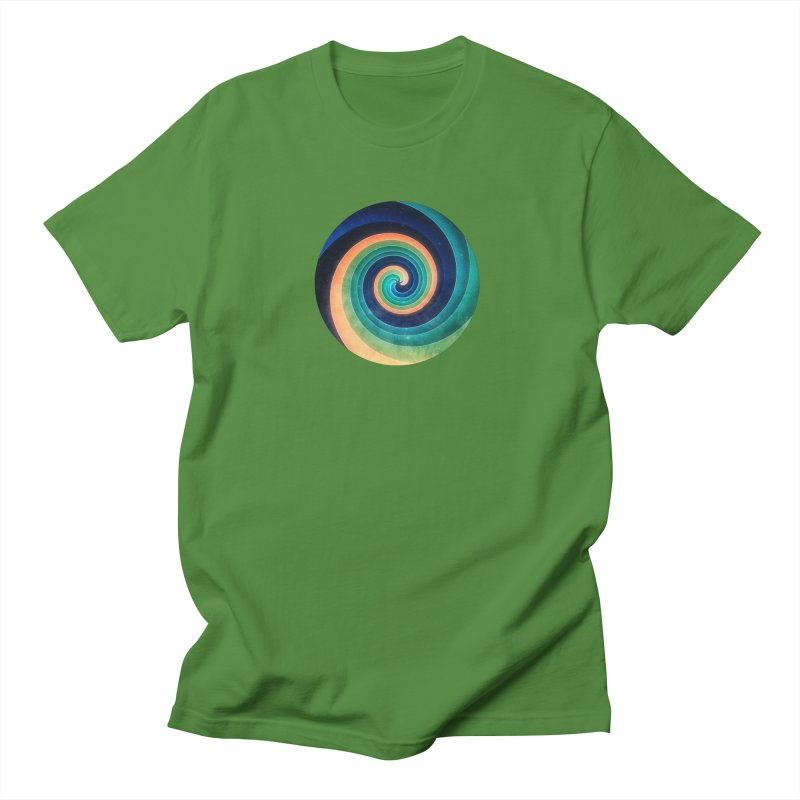 Abstract night swirl Men's Regular T-Shirt by fruityshapes's Shop