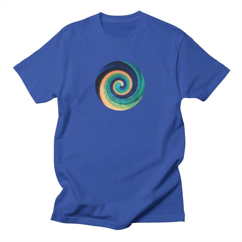 Abstract night swirl Women's Regular Unisex T-Shirt by fruityshapes's Shop
