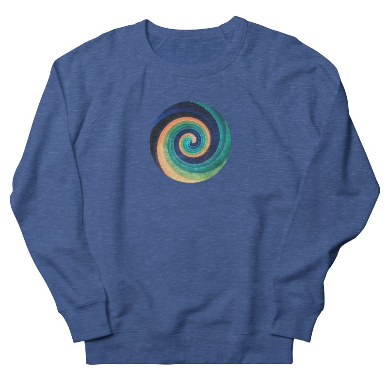 Abstract night swirl Women's French Terry Sweatshirt by fruityshapes's Shop
