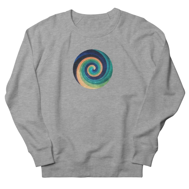 Abstract night swirl Men's French Terry Sweatshirt by fruityshapes's Shop