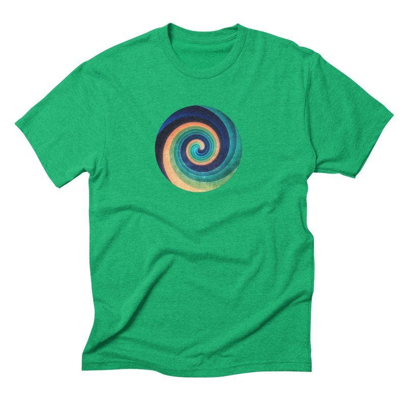 Abstract night swirl Men's Triblend T-Shirt by fruityshapes's Shop