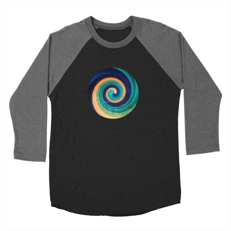 Abstract night swirl Men's Baseball Triblend T-Shirt by fruityshapes's Shop