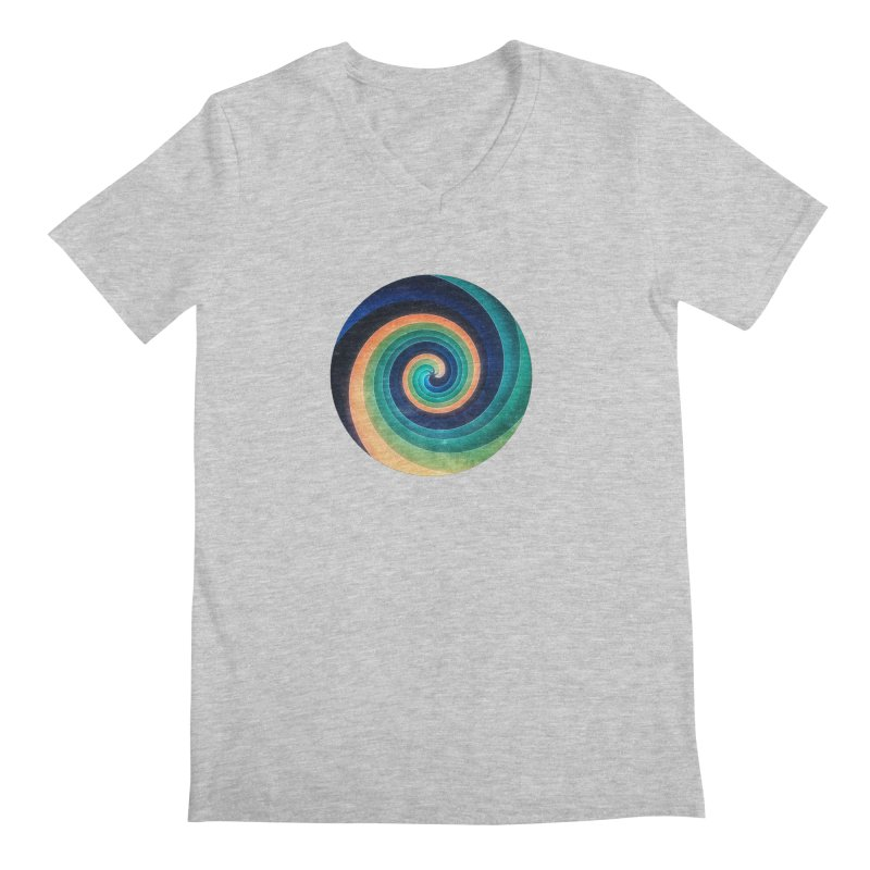 Abstract night swirl Men's V-Neck by fruityshapes's Shop