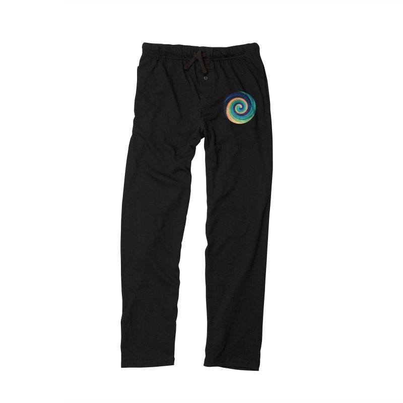Abstract night swirl Men's Lounge Pants by fruityshapes's Shop