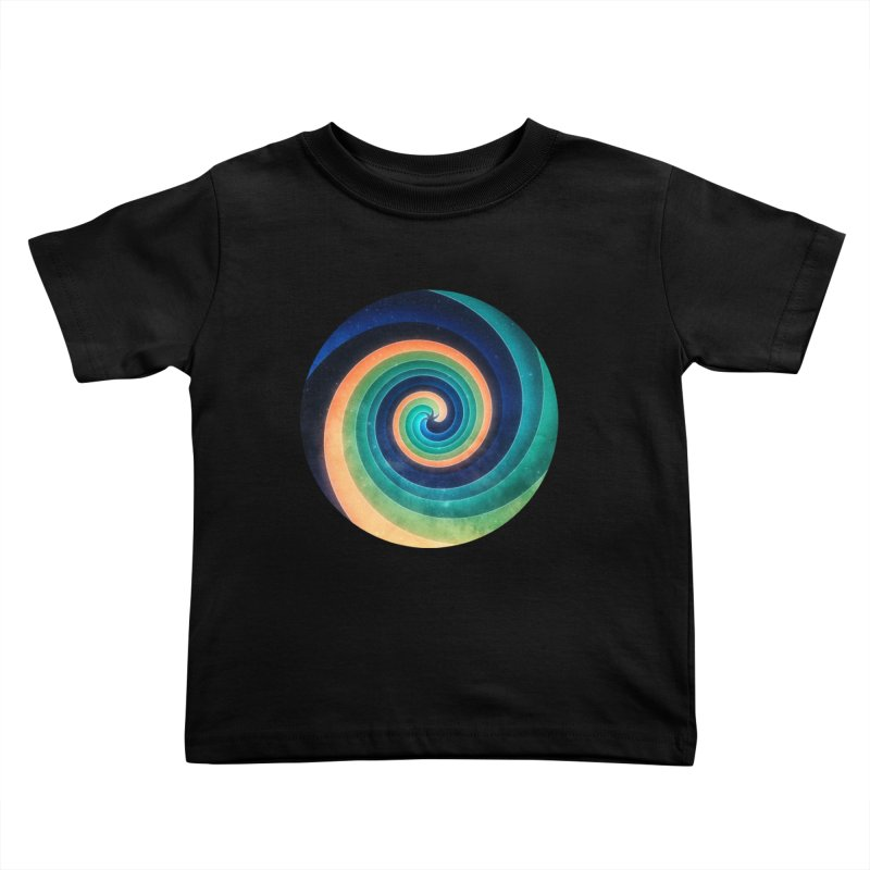 Abstract night swirl Kids Toddler T-Shirt by fruityshapes's Shop