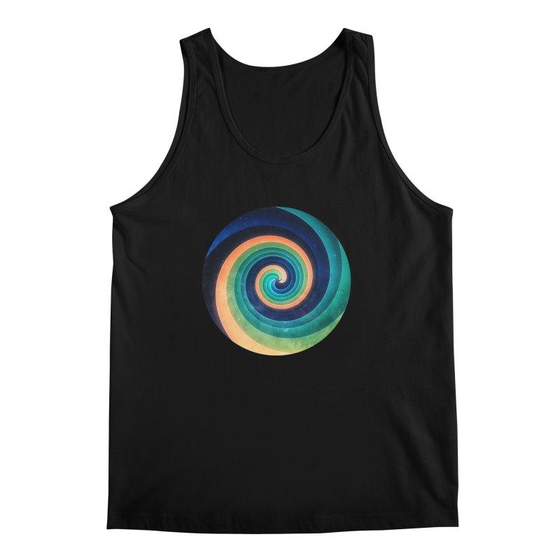 Abstract night swirl Men's Regular Tank by fruityshapes's Shop