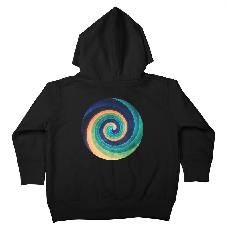 Abstract night swirl Kids Toddler Zip-Up Hoody by fruityshapes's Shop