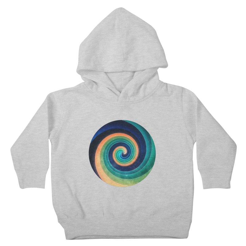 Abstract night swirl Kids Toddler Pullover Hoody by fruityshapes's Shop