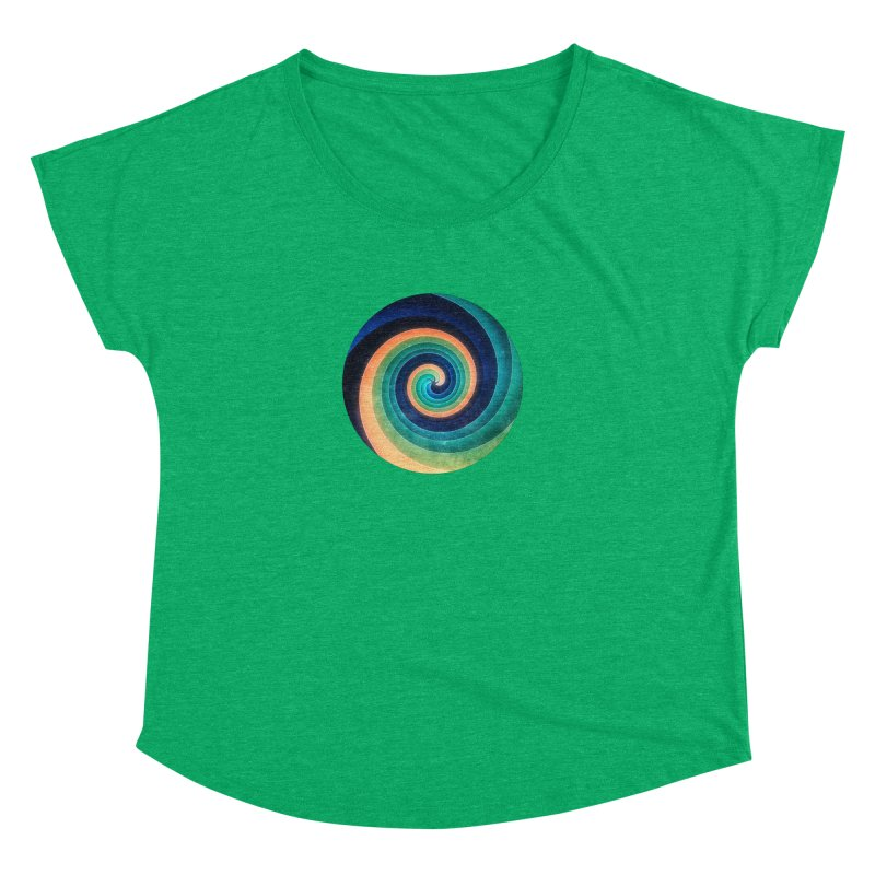 Abstract night swirl Women's Dolman Scoop Neck by fruityshapes's Shop