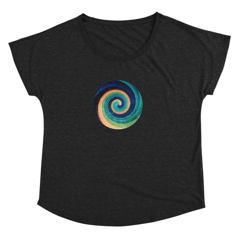 Abstract night swirl Women's Dolman Scoop Neck by fruityshapes's Shop