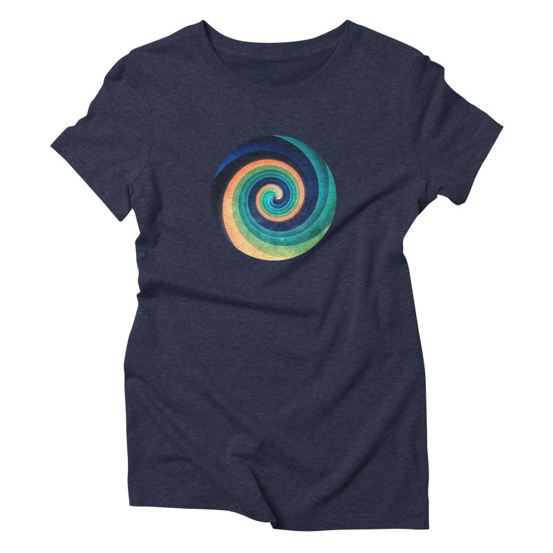 Abstract night swirl Women's Triblend T-Shirt by fruityshapes's Shop
