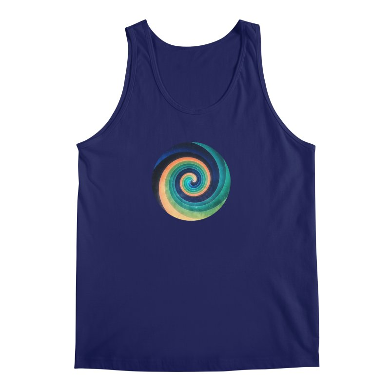 Abstract night swirl Men's Regular Tank by fruityshapes's Shop