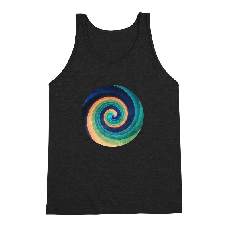 Abstract night swirl Men's Triblend Tank by fruityshapes's Shop